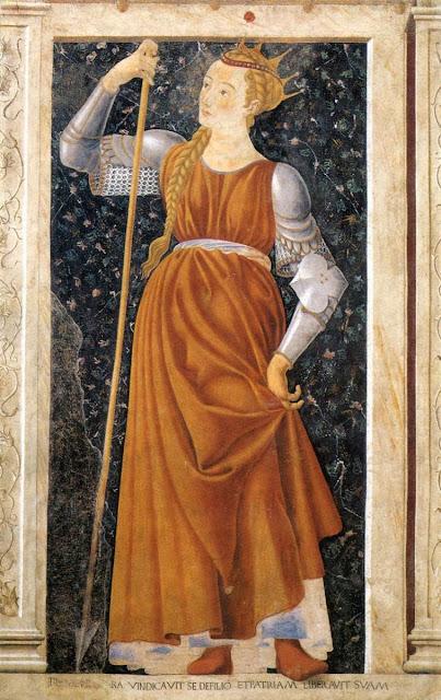 Andrea del Castagno - Queen Tomyris