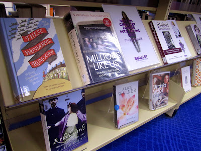 International Women's Day library display