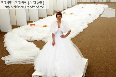 全球最長頭紗