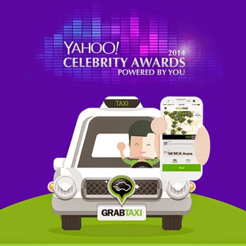 Yahoo Philippines and GrabTaxiPH teams up for Yahoo Awards 2014