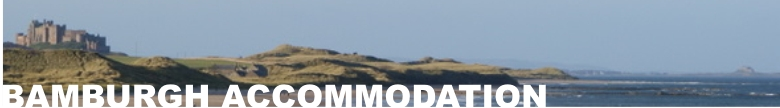 Bamburgh Accommodation and surrounding area