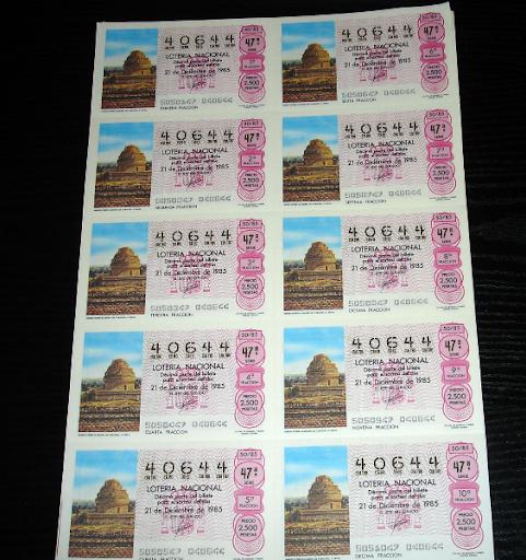 Loteria Nacional-observat llamado el