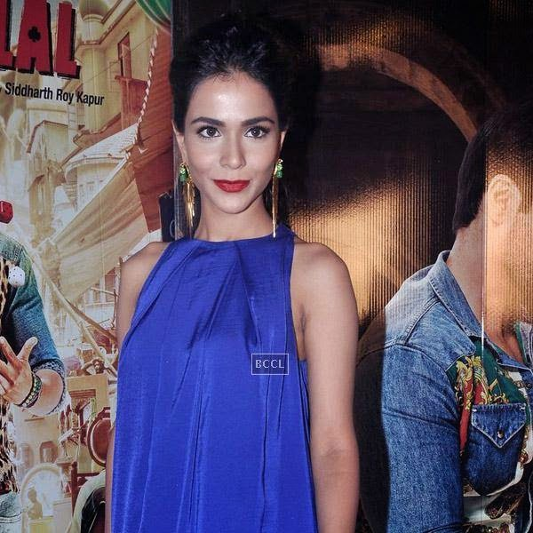 Humaima Malik clicked during the press meet of Bollywood movie Raja Natwarlal, held at UTV Office on July 24, 2014.(Pic: Viral Bhayani)