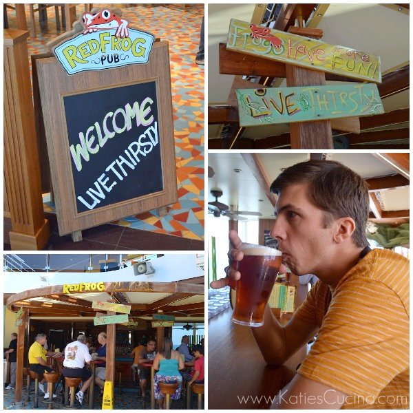 RedFrog Pub on the Carnival Breeze