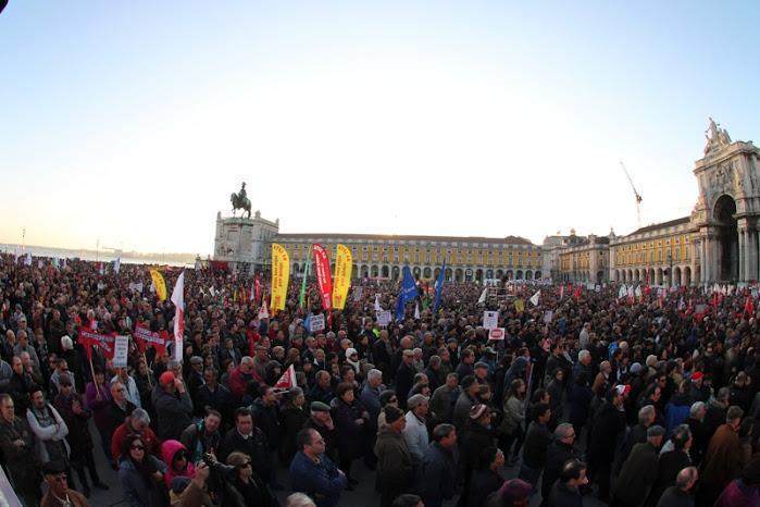 Mais de 300.000 em Lisboa