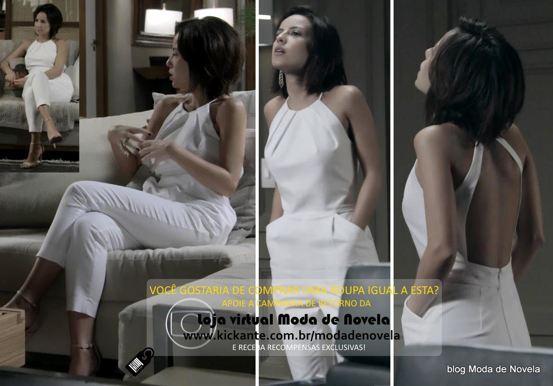 moda da novela Império, look da Maria Clara dia 22 de janeiro de 2015
