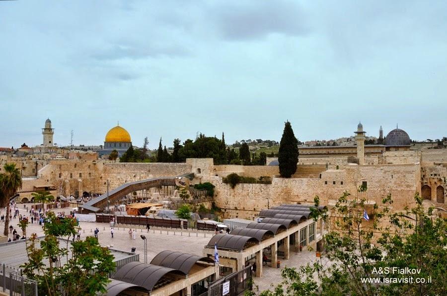 Храмовая гора. Грузинские паломники в Иерусалиме. Гид в Иерусалиме Светлана Фиалкова.