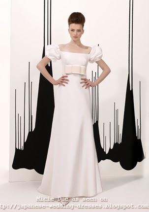 Japanese Wedding Dresses Beyond the Kimono: Pretty bridal dresses ...