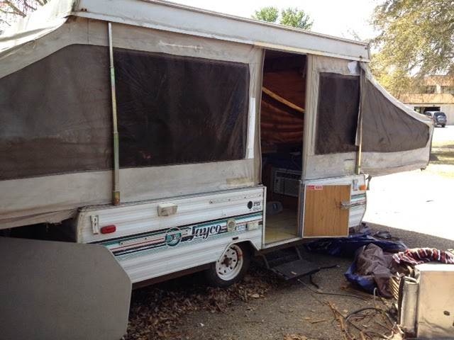 Here Is Our 1991 Jayco 1006 Deluxe It Was The Camper Of Campers Back In Day