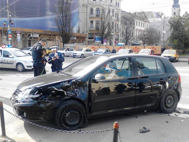 Accident în centrul Oradei #3