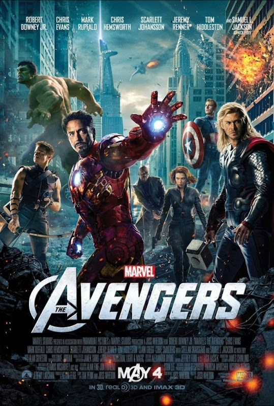 Poster Of The Avengers (2012) Full Movie Hindi Dubbed Free Download Watch Online At Alldownloads4u.Com