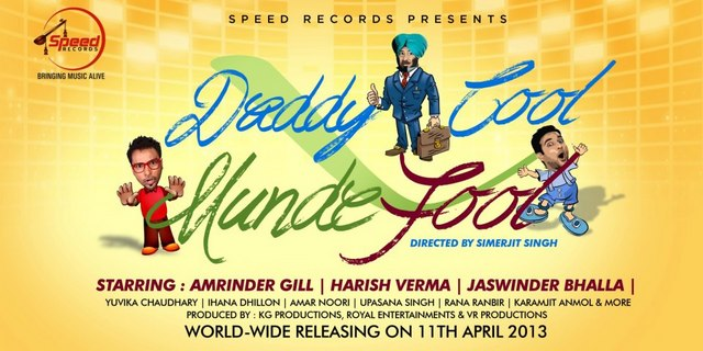 Daddy Cool Munde Fool Punjabi Movie Poster