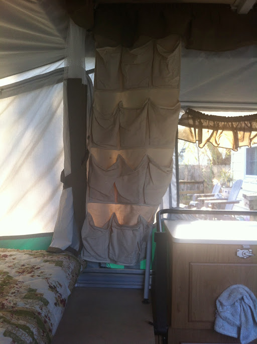 Rv Net Forum >> RV.Net Open Roads Forum: Folding Trailers: Ceiling hooks to support hanging pantry?