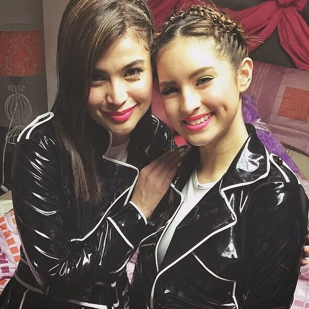 anne curtis coleen garcia production number on its showtime 2014 video