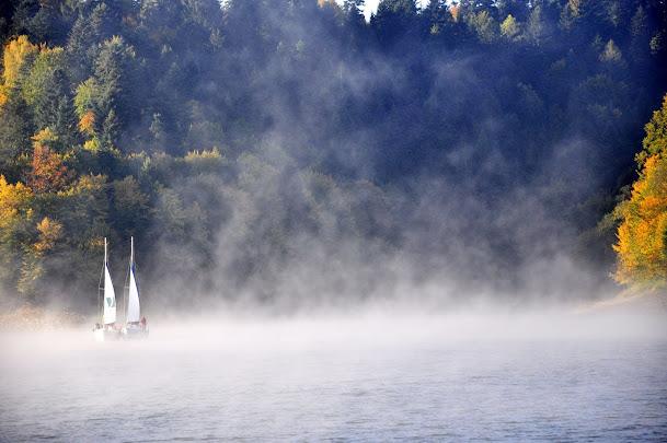 Jezioro Solińskie, Solina, linia brzegowa
