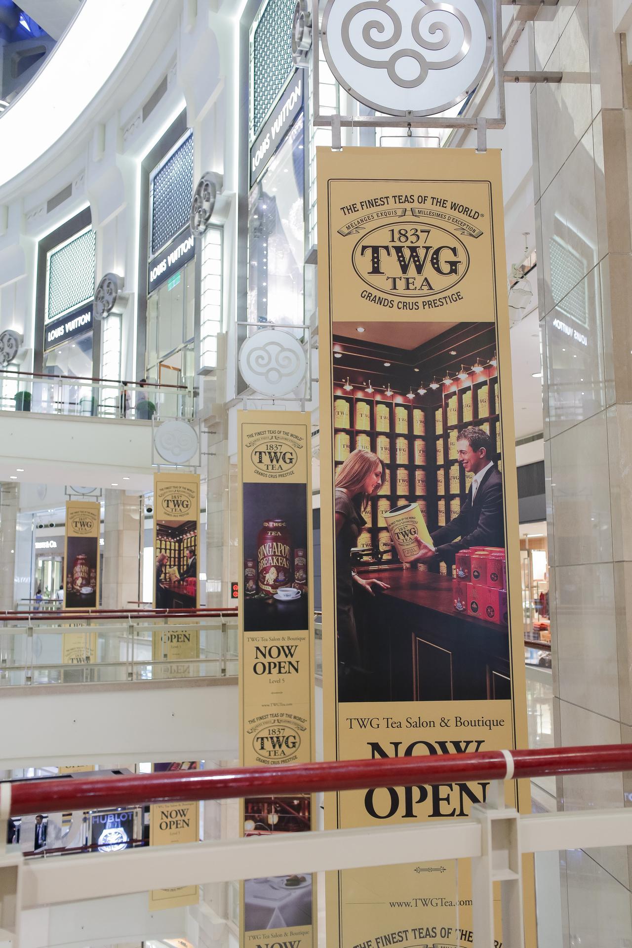 [TWG 101] 初訪TWG Tea salon的四品薰香茶:1837黑茶、1837白茶、玫瑰氛香茶、天龍騎士茶