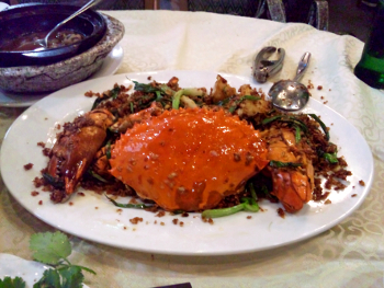 避風塘炒蟹