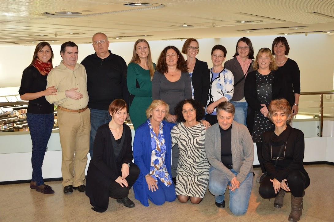 Udeleženci srečanja partnerjev projekta