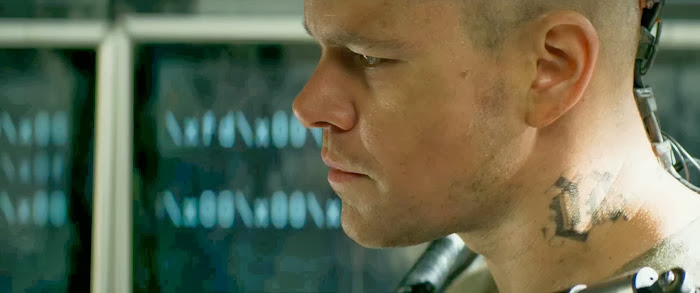 Screen Shot Of Hollywood Movie Elysium (2013) In Hindi English Full Movie Free Download And Watch Online at alldownloads4u.com