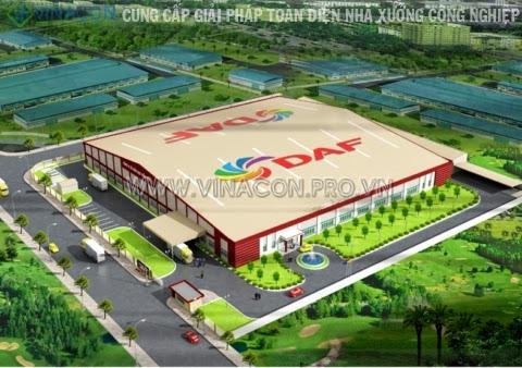 Thiết kế nhà máy thực phẩm Đông Á