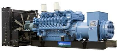 Máy phát điện MTU 100kva – 2000kva
