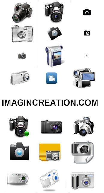 142 Free Camera Web 2.0 Icons Set Download