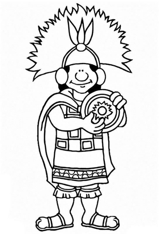 Images Inca civilization coloring pages