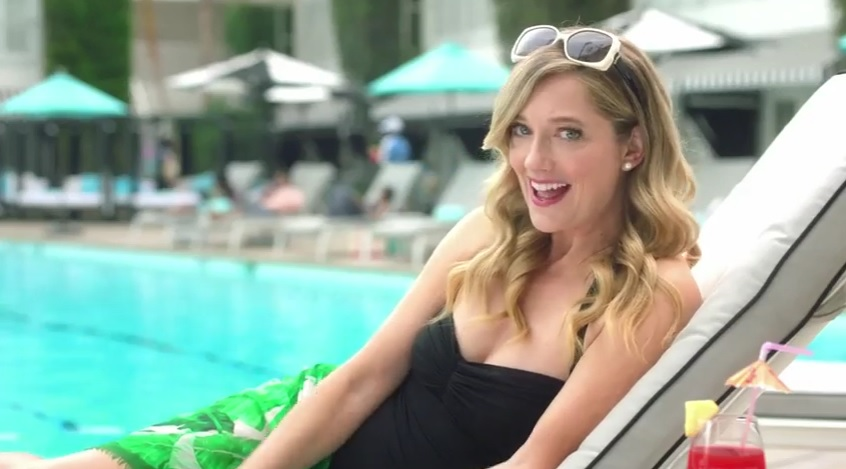 Judy Greer Teams Up with Visa and The Hilton In 3 New Ads for the HHonors App
