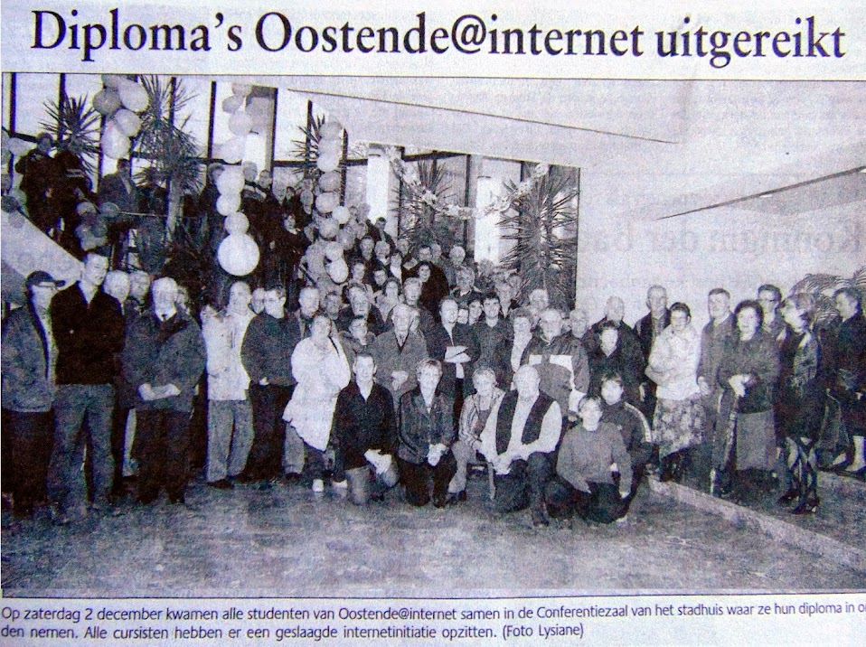 Getuigschriftenuitreiking 2 december 2006