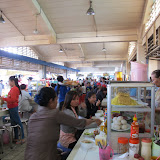 "Inside the ""food court"" of Central Market, Phnom Penh"