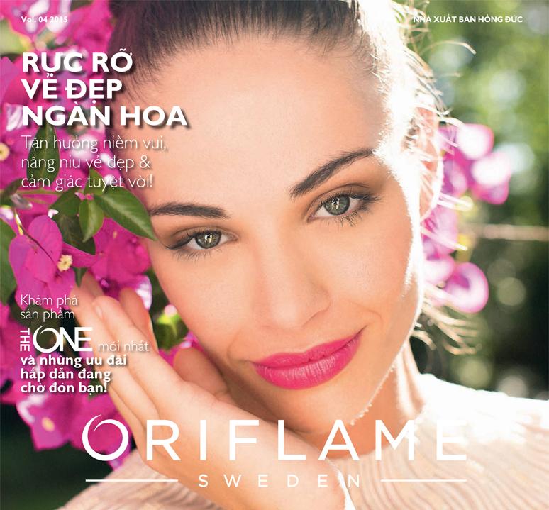 Catalog Oriflame tháng 4/2015