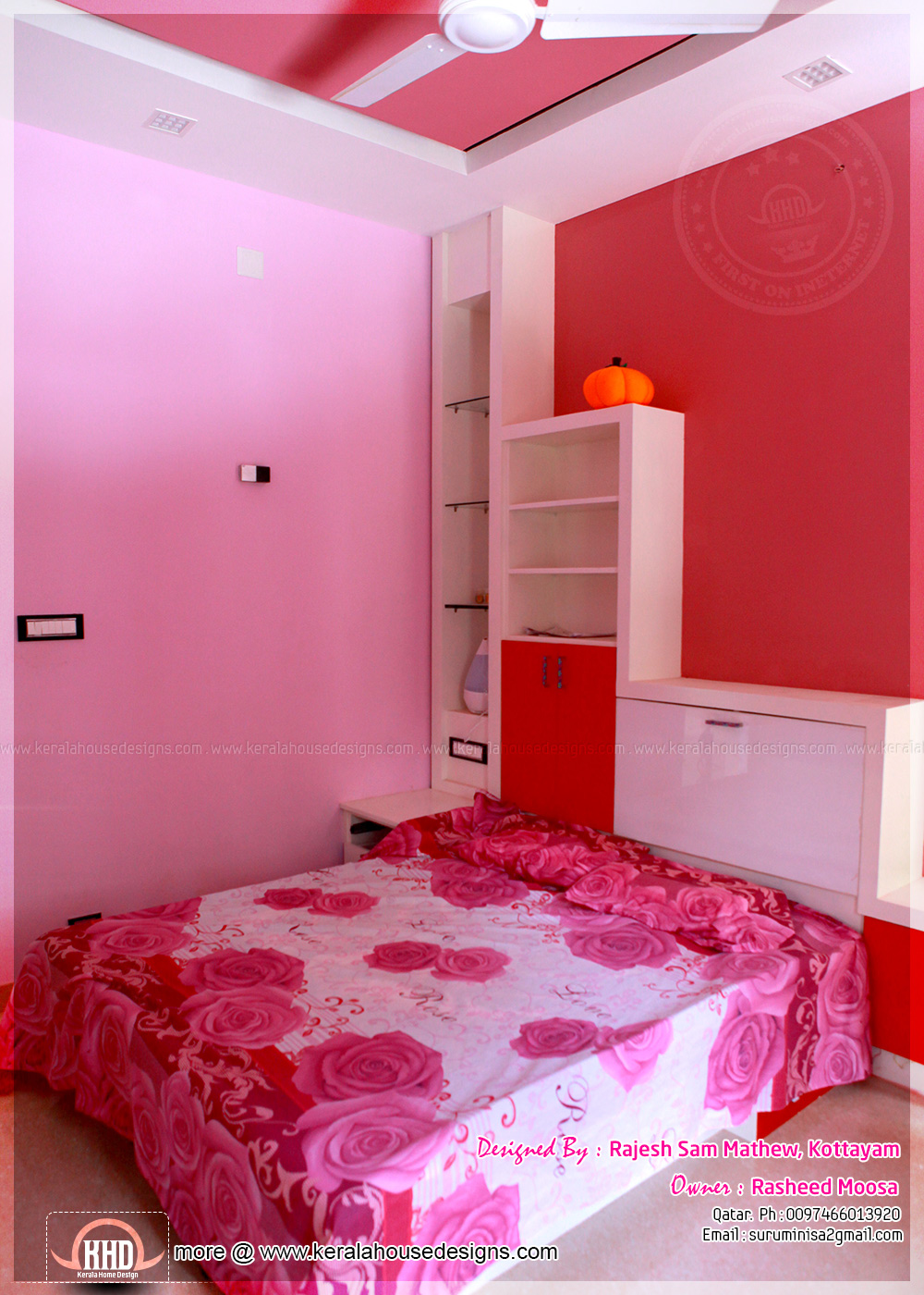 kids bedroom - 17+ Small House Plans In Kerala With Photos  Images