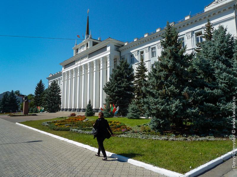Дом Советов ПМР в Тирасполе.