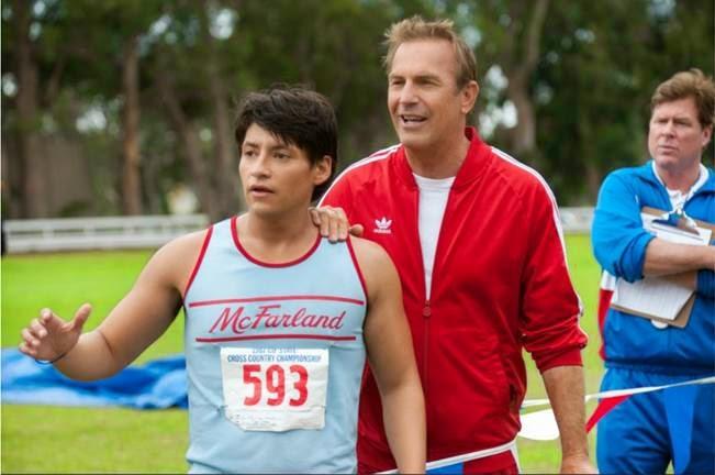 Kevin Costner stars in McFarland, USA #McFarlandUSAEvent