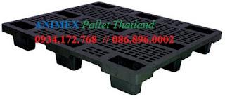 Pallet nhựa lưu kho NMV 1210 NR