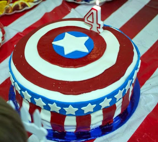 50 Best Captain America Birthday Cakes Ideas And Designs iBirthdayCake