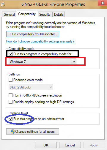 Trik Install GNS3 di Windows 8 | aditiazaman