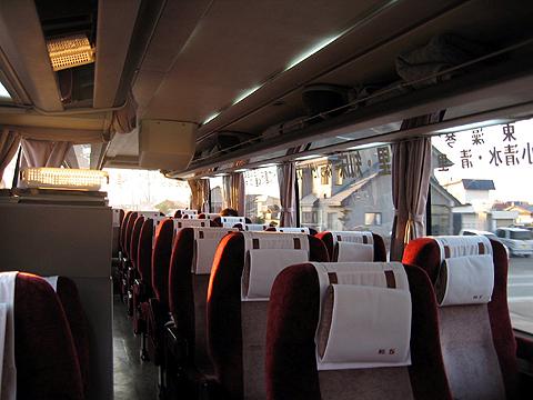 斜里バス「イーグルライナー」 ・239 車内