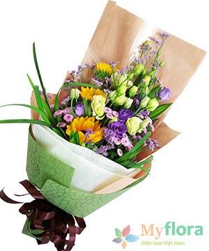 Bó hoa tươi Kính trọng