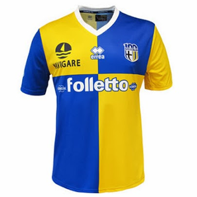 Jual Jersey Parma Away Terbaru 2014