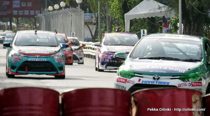 Toyota racing days at Saphan Hin