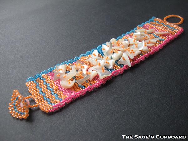 Tropical Cluster Bracelet