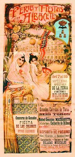 Cartel Feria Albacete 1911