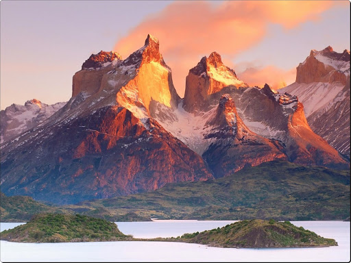 Cuernos del Paine and Pehoe Lake, Patagonia, Chile.jpg