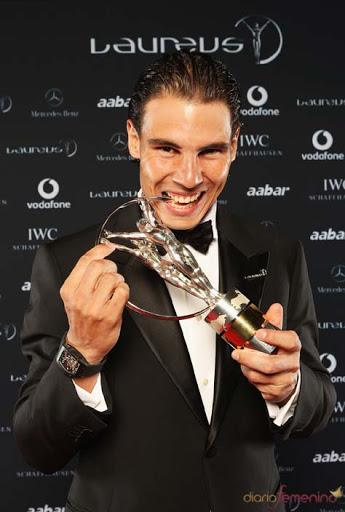 Rafael Nadal Premio Laureus al mejor deportista del año