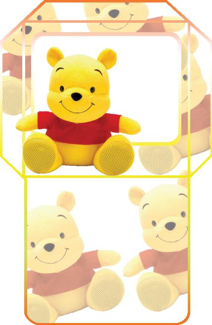 Invitación Pooh para imprimir