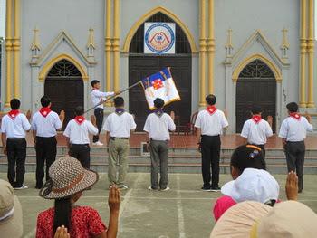 Giáo xứ Hóa Lộc - Sa mạc huấn luyện Tông đồ đội trưởng