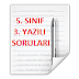 2013-2014 EĞİTİM ÖĞRETİM YILI MATEMATİK DERSİ 5. SINIF 1. DÖNEM 3. YAZILI SORULARI