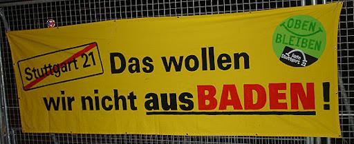 Transparent: Das wollen wir nicht aus-Baden