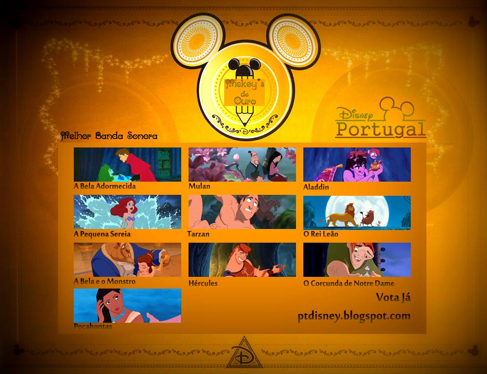 Mickey's de Ouro-Disney Portugal Melhor+Banda+Sonora1